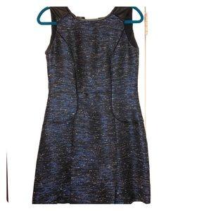 Cynthia Steffe metallic tweed dress